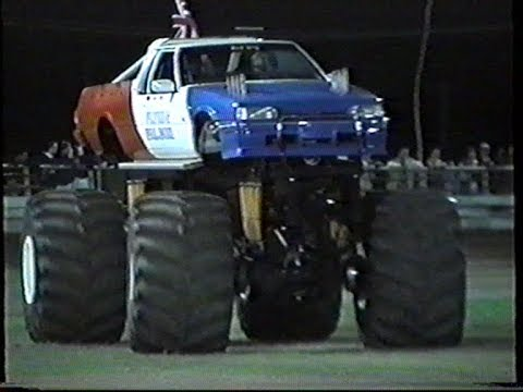 Motor Mayhem Monster truck show Gold coast Australia 1999