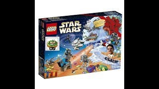 Calendario de adviento 2017 - Presentación - Lego Star Wars, en español y con humor