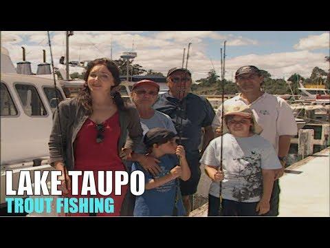 New Zealand - Trout Fishing On Lake Taupo