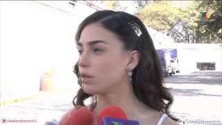 Melissa Barrera - Entrevista con elenco de La Mujer Sin Nombre
