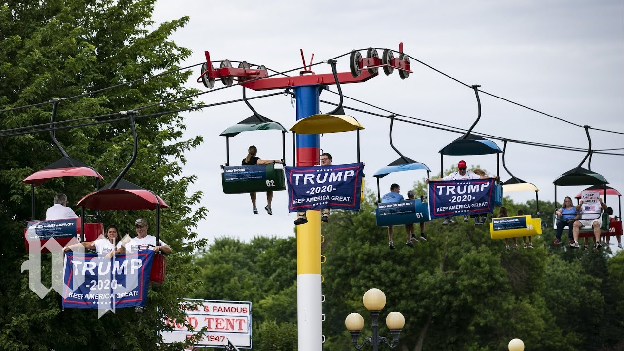 Iowa State Fair 2020 Dates.The Iowa State Fair Didn T Miss Trump He Was Everywhere