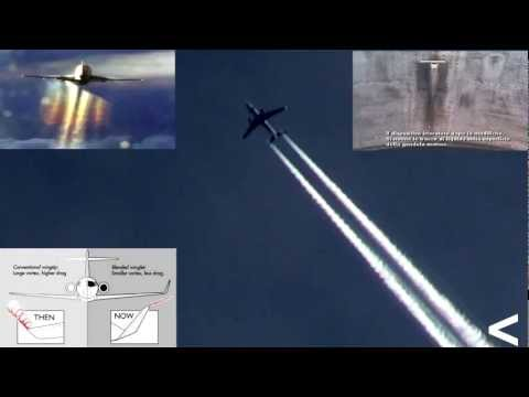NATO vs cumulus, chemtrails wing-spray catalysed by winglet of commercial planes 05.01.2012