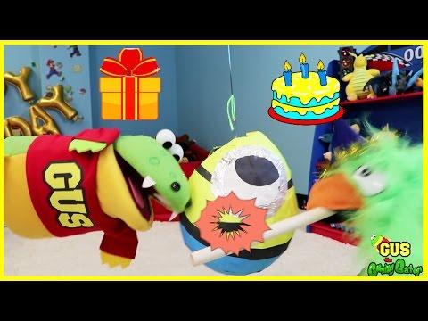 HAPPY BIRTHDAY Pretend Play Toys! Funny Kids Video Family Fun Balls for Children