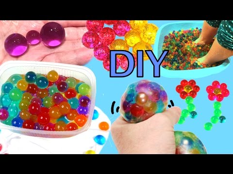 what-to-do-with-orbeez-or-water-beads,-games-and-experiments:-squishy-ball,-spa,-experiments