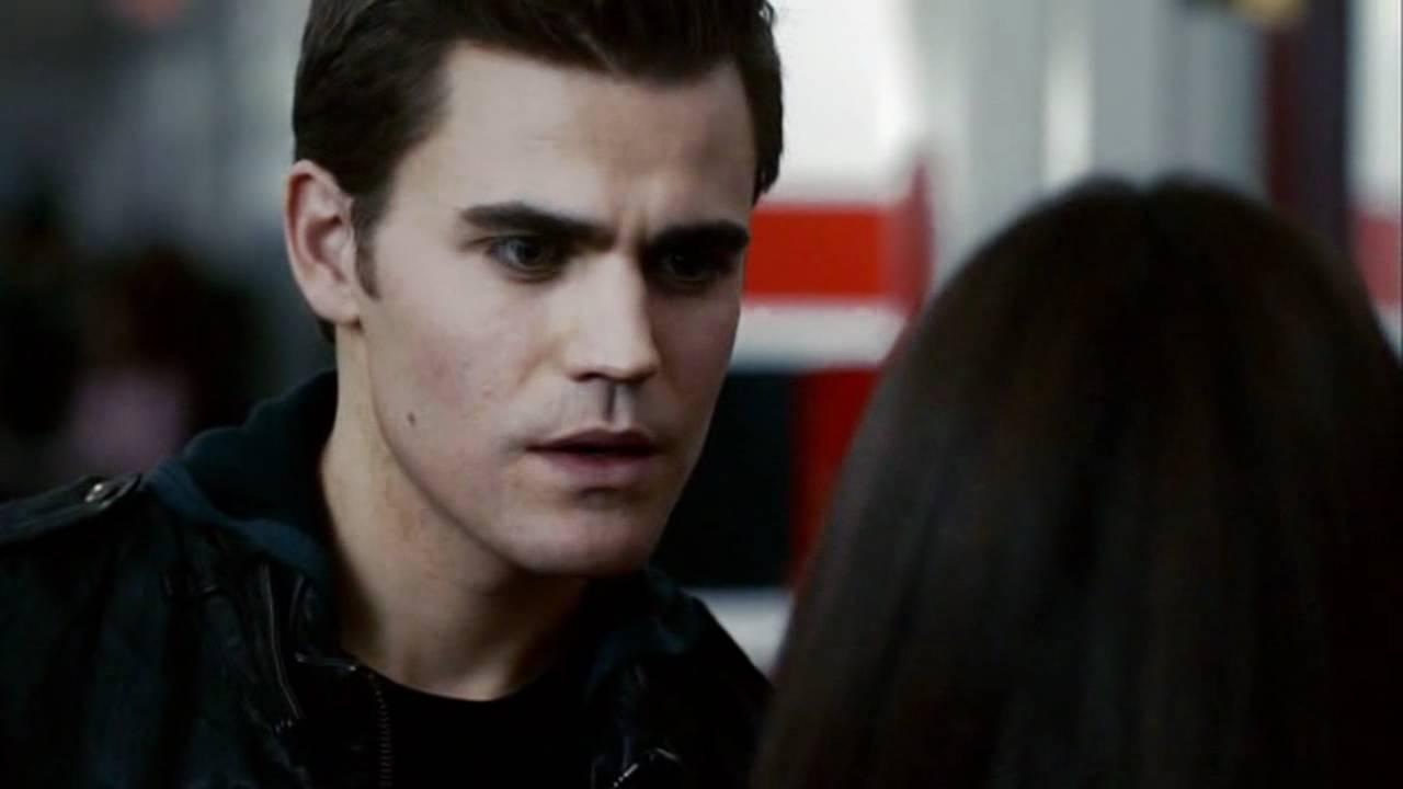 the vampire diaries damon and elena stefan first meet