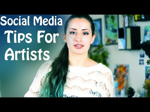 Art Career Advice | How to get more followers on social media
