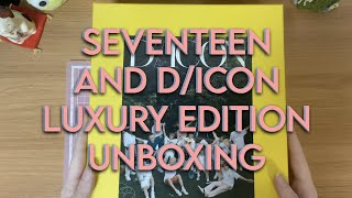 SEVENTEEN UNBOXING : DICON 'My Choice Is...' Luxury Edition