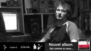 """Teaser - Je Vous Déteste - Nouvel Album """"Fais Comme Tu Veux"""""""