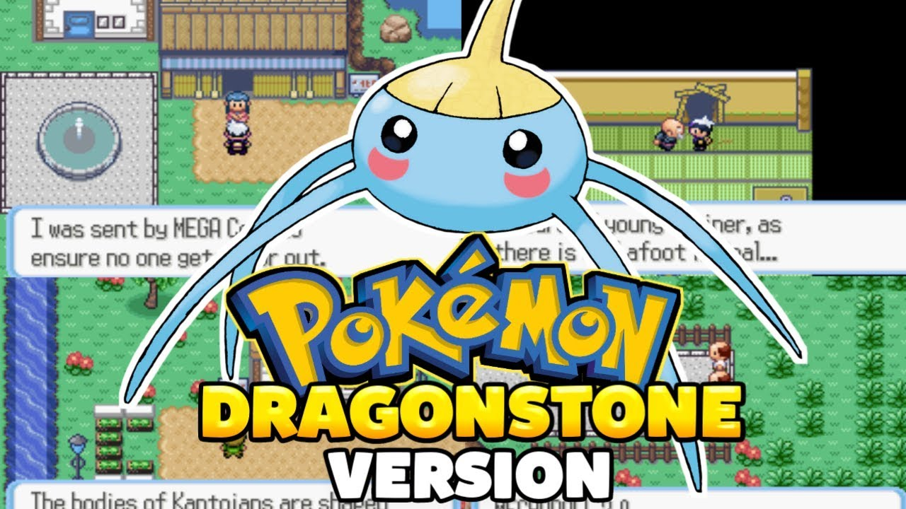 Pokemon Dragonstone [Beta] - GBA Game With New Characters