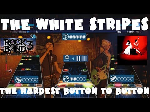 The White Stripes - The Hardest Button to Button - Rock Band 3 Expert Full Band