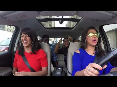 Abish Matthew and Zakir Khan's car interview with Karishma and Malavika