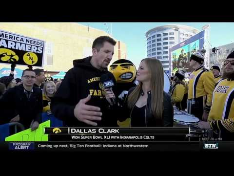 Dallas Clark Back in Iowa City