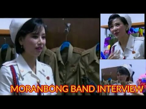 Moranbong Band Interview in North Korea 2017