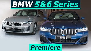 """2021 BMW 5 Series & 6 Series GT World Premiere """"Back in the game"""""""