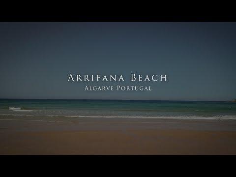 Arrifana Beach - Algarve Portugal mit der Dji Mavic Pro