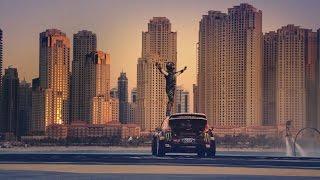 Saudi Arabia Dubai car drift movie