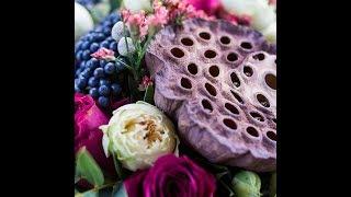 Современные букеты невест, лепим коробочку лотоса с Анной Горбуновой