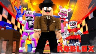 FNAF FUNTIME FOXY, FUNTIME FREDDY & CIRCUS BABY IN ROBLOX! Roblox Callum plays Animatronic world!