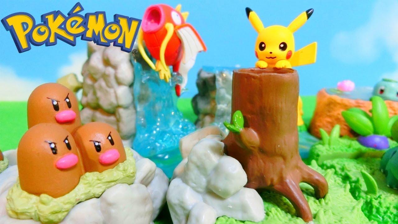 Pokemon Diorama Desktop Figures - Re-Ment Miniature Toys