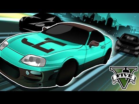GTA 5 Roleplay - Super Car Halloween Chase! (GTA 5 RP)