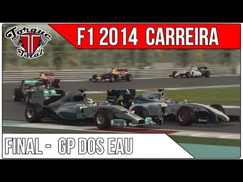 🎮 F1 2014 Carreira FINAL | A GRANDE DECISÃO EM ABU DHABI! [Lenda]