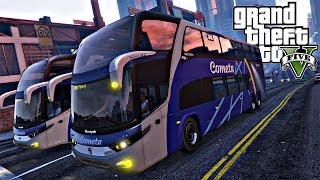 Video GTA 5: Mod Bus - Viagem com ônibus da cometa download MP3, 3GP, MP4, WEBM, AVI, FLV Juli 2018