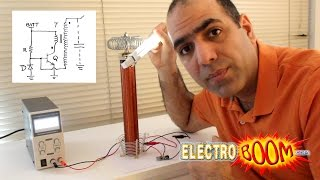 BREAKING NEWS: my musical Tesla coil driver circuit is not the best...