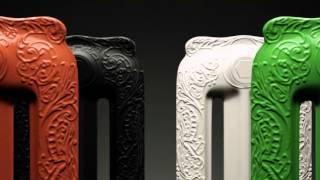 www.millenium-lazienki.pl - grzejnik SCIROCCO Tiffany retro żeberkowy zdobiony dekorem żeliwny(, 2015-12-03T06:15:13.000Z)