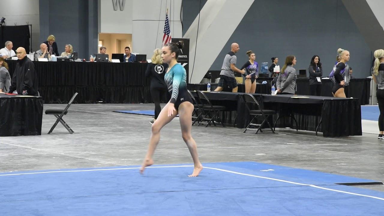 Ariel Posen Floor Exercise 2018 Womens Junior Olympic National