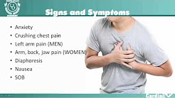 Myocardial Infarction (MI Heart Attack) for NCLEX Review and nursing students