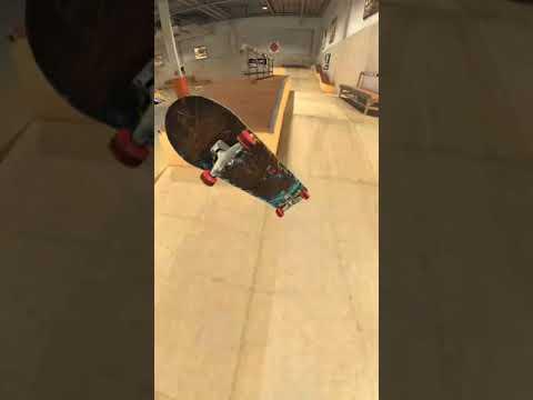 True Skate - Nollie varial kickflip bs feeble + varial kickflip fs tailslide