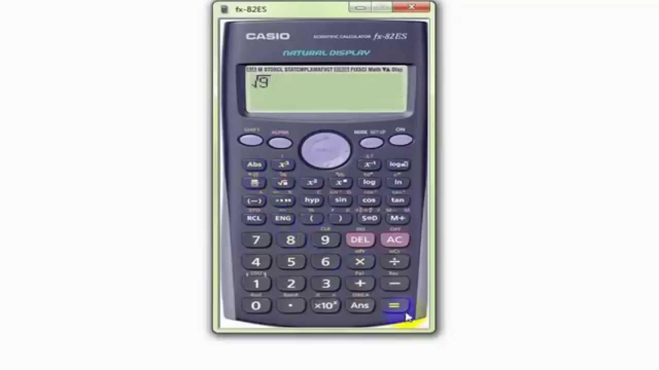 تحميل آلة حاسبة Casio Fx 82 للكمبيوتر