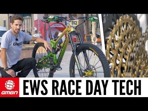 Pro Bike Tech From The 2017 EWS in Finale Ligure