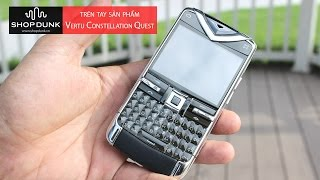 vertu Constellation Quest Brushed Black Leather (Phm gm) 97-99