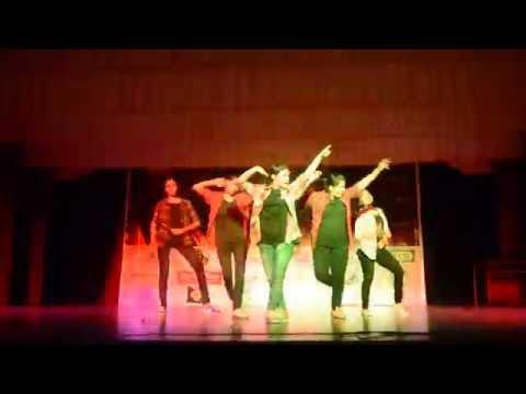 XIME QUEST 2015 group dance