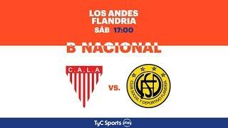 Los Andes vs Flandria full match