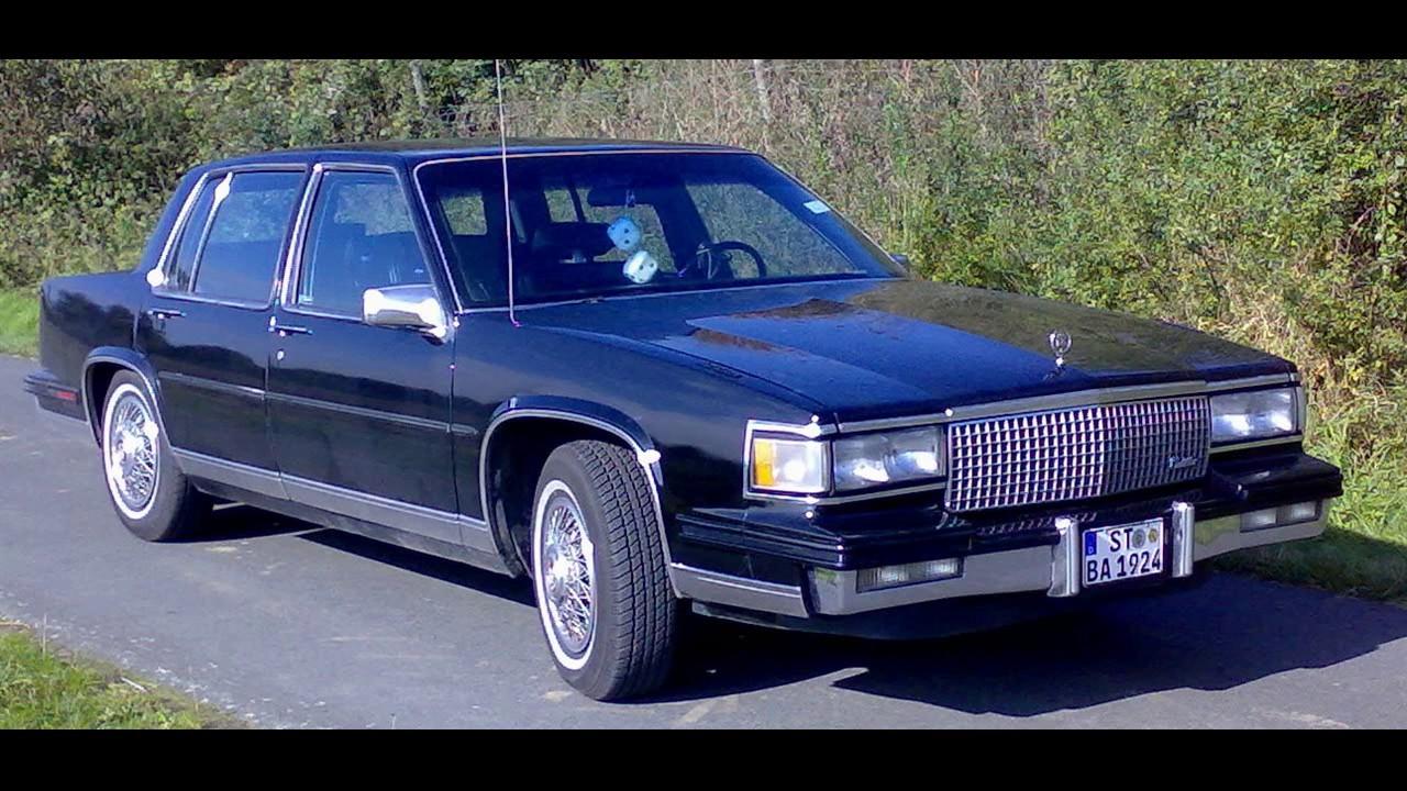 1988 Cadillac Sedan DeVille - YouTube