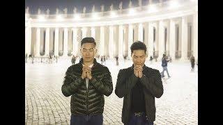 Trước 'giờ G' chinh phục kỷ lục Guinness thế giới ở Italy-Quốc Cơ, Quốc Nghiệp thành tâm cầu nguyện