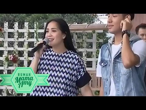 """Keren Banget! Nagita Slavina Feat JAZ """" Cinta Dan Rahasia """"  - Rumah Mama Amy (10/2)"""