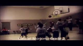 8 year old Basketball star Gabe Morton hits 6 3 pointers in 1 game! Thumbnail
