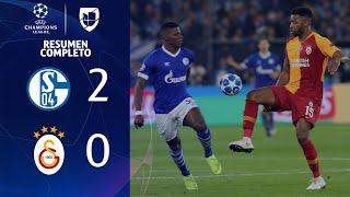 Schalke 2-0 Galatasaray - GOLES Y RESUMEN - Grupo D - UEFA Champions League