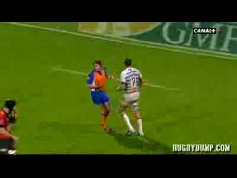 Tries in France 2011 2012 day 11 Castres - Toulon