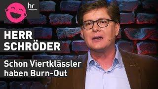 Herr Schröder, Beamter mit Frustationshintergrund