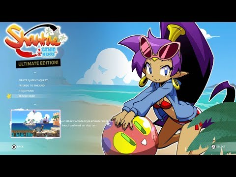 Shantae: Half Genie Hero Ultimate Edition - Beach Mode Gameplay (Direct-Feed Switch Footage)