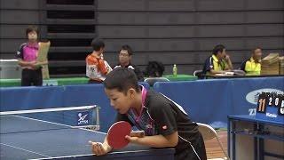 【全農杯 全日本卓球選手権大会 ホープス・カブ・バンビの部】ダイジェスト⑨