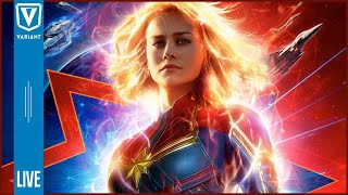 Variant LIVE: Captain Marvel Trailer, Elseworlds Trailer, Daredevil Canceled & More!