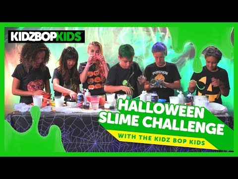 Halloween Slime Challenge with The KIDZ BOP Kids