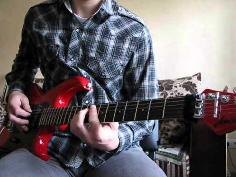 Puddle Of Mudd -- Psycho guitar cover by Sklif