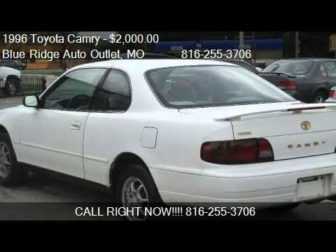 1996 toyota camry le coupe for sale in kansas city mo. Black Bedroom Furniture Sets. Home Design Ideas