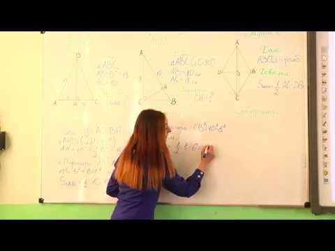 8 клас. Геометрія. Площа трикутника.